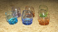 Buy Wobbly Bottom Shot Glasses - Set of 6 for R195.00