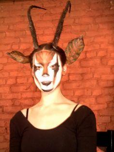 Gazelle Face Paint