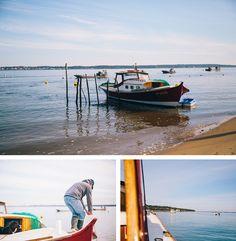 Balade en pinasse sur le Bassin d'Arcachon, le top :)