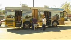 Bookmobile, Kearney (Nebr.) Public Library.