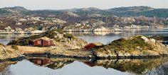 På öarna Hitra och Frøya kan du uppleva genuin kustkultur. Bo i fiskestuga, en s.k. rorbu, eller på en fyr och åk på fisketurer.