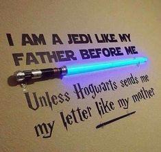 Star wars harry potter deco