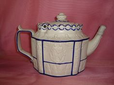 CASTLEFORD 19th CENTURY TEAPOT Has several bits of damage tip of spout broken but looks like someone tried to repair it, damage to lid chips to the edge £13