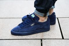 Puma Suede Classic+ Iced Peacock-Gold Foil