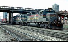 RailPictures.Net Photo: LN 3590 Louisville & Nashville EMD SD40-2 at Birmingham, Alabama by Bernie Feltman
