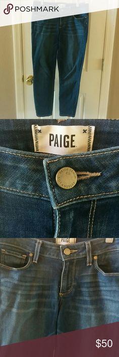 Paige Verdugo Crop Verdugo Crop Paige jeans. PAIGE Jeans