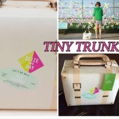 KATE SPADE TINY TRUNK Rand new no tags with dust bag 100% authentic will add own photos later on never been used*not my photos gotten from google so not sure who to credit* kate spade Bags