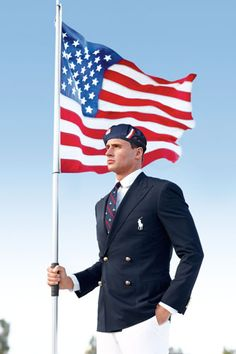 Ryan Lochte. (Does he need an explanation anymore?)  Photo: Courtesy of Ralph Lauren