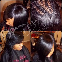 Full Sew In With No Leave Out No Closure Sew In Weave