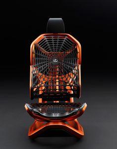 "rocketumbl: "" LEXUS Kinetic Seat Concept """