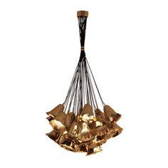 Gia I Chandelier in Gold www.bykoket.com