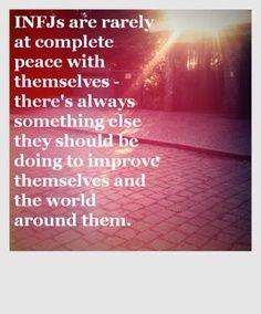 Imagen de peace, world, and infj Infj Mbti, Intj And Infj, Infj Type, Introvert, Enfj, Rarest Personality Type, Infj Personality, Personality Psychology, Personalidad Infj