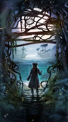 This piece was done by Poster Posse Pro Andy Fairhurst for our official collaboration with Disney for the latest Jack Sparrow tale: Pirates of the Caribbean: Dead Men Tell No Tales Captain Jack Sparrow, Caribbean Art, Pirates Of The Caribbean, Disney Art, Disney Pixar, Jack Sparrow Wallpaper, Jack Sparrow Quotes, On Stranger Tides, Poster Art