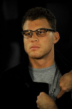 blake's first all-star appearance this weekend... and he's got glasses ?! =0