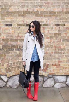 Outfits con botas de moda rojas | Moda en botas de temporada