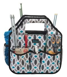 The Stuff N Go is our most versatile tote yet is great for gardening tools, craft supplies, kids' toys and snacks for the road, or even a roadside emergency kit. We also love it as a hair-styling caddy. Comes in 3 patterns!  www.mycleverbiz.com/carriesilvia