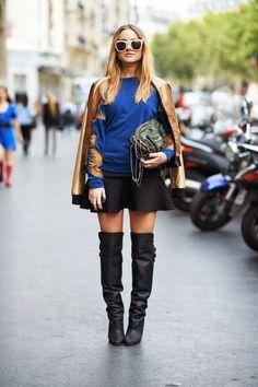 Fashion Blog di Dania CarboniniStreet style stivali over the knee