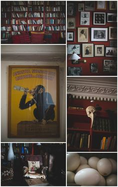 Quirky collection of decor at Kilyon Manor