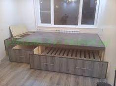 Картинки по запросу кровать подиум с ящиками своими руками