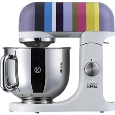 Kenwood kMix Barcelona Striped Stand Mixer... making cooking easier and more colourful!