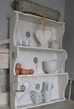 Nice kitchen rack by Brocanterie Derdijk