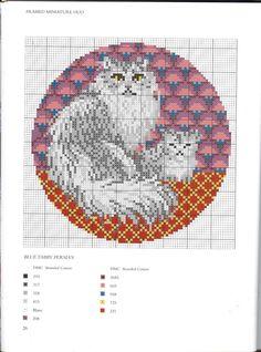 Gallery.ru / Фото #49 - Needlepoint cats - anfisa1