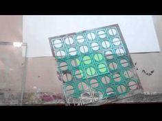 Make a Stamp From a Stencil with foam & heat gun