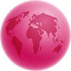 pink globe!!