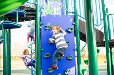 Provide age-appropriate climbing challenges on the school playground with the Rock Wall Climber by Superior Recreational Products!