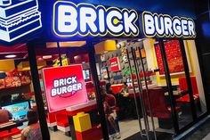 BRICK BURGER PEŁEN KANAPEK JAK KLOCKI LEGO