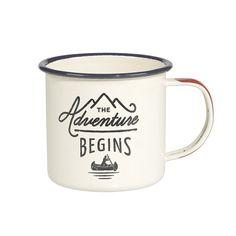 Gentlemen's Hardware Enamel Mug with Red Handle