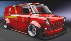 Showvans,Custom Vans and Van Events Ford Transit, Transit Camper, Customised Vans, Custom Vans, Big Trucks, Ford Trucks, Old Muscle Cars, Cool Vans, Ford Classic Cars