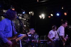 The Arctic Monkeys played an exclusive set for 150 fans at Red Bull Sound Space in Santa Monica. For full review, click photo. Photo by: Siri Svay