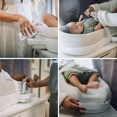 The most innovative changing pad ever. The Change-in-Pod is here and all you need is water. Use water to clean your baby Must-have baby products, Baby gear, best baby product 2018 – Best changing pad. Target Baby, Eco Baby, Baby Gadgets, Boho Home, Baby Bassinet, Baby Must Haves, Baby Diaper Bags, Natural Baby, Changing Pad
