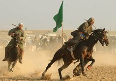 Buzkashi in Afghanistan