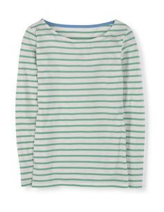 Long Sleeve Breton Tops & Blouses at Boden Coats For Women, Clothes For Women, Style Wish, Navy Women, Long Sleeve Tops, How To Wear, Shopping, Natural Clothing, Spencer Hastings