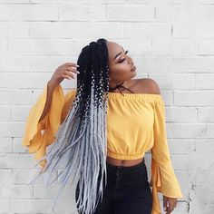 Top 60 All the Rage Looks with Long Box Braids - Hairstyles Trends Grey Box Braids, Ombre Box Braids, Box Braid Hair, Short Box Braids, Braids For Black Hair, Coloured Box Braids, Braids For Girls, Hair Twists, Long Braids
