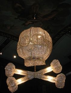If this was your chandelier, what sort of Halloween feast might you host?