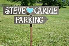 Parking Wedding Sign, Parking Sign, Country Wedding, Rustic Wedding, Wooden Wedding Signs, Wedding Signage, Arrow Wedding Signs, Directional
