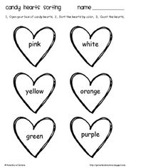 All you need to have fun on Valentine's Day is a box of conversation hearts!  There are three activities included in this download.  You can pick a...
