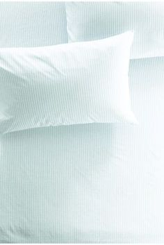 Buy Teal Stripe Cotton Rich Fitted Sheet Set online today at Next: Israel