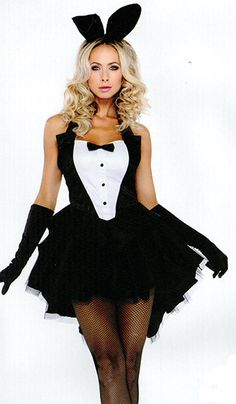 Play Boy Bunny Girl - Get this costume in either of our two Red Light Vintage & Costumes stores now - Follow our blog for Halloween updates & Ideas
