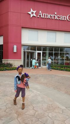 There is a long line at the interior door of American Girl Doll Place Houston Store today for the release of Gabriela McBride. No entrance to this outside Door allow. I am so excited.