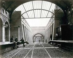 Notting Hill Gate Station. | 15 Victorian Photos Of The London Underground Being Built