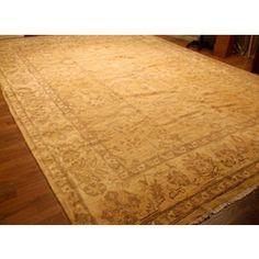 Shop Indo Oushak Rug 17.5x12.4 and other jewelry, art, coins, rugs and real estate at www.aantv.com Decorative Rugs, Jewelry Art, Coins, Real Estate, Flooring, Wall, Shop, Home Decor, Decoration Home