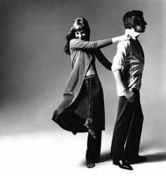 Jane Birkin & Serge Gainbourg by Bert Stern  #SergeGainbourg #BertStern