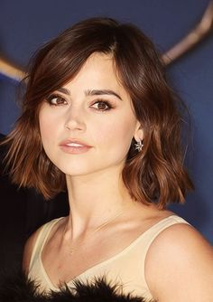 Jenna Coleman Hair Color Formula with Organic Way (Oway) professional hair color line. You'll need 5.03, 7.03 and of course, your favorite plant butter developers...