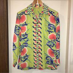Hawaiian Clothes, Hawaiian Dresses, Vintage Hawaiian Shirts, Vintage Clothing, Vintage Outfits, Hawaii Outfits, Bohemian Style Clothing, Bowling Shirts, Aloha Shirt