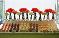 Spring Fling Dessert Table for the Metro Weddings, May 2012 Issue by Yummy Piece of Cake, via Flickr