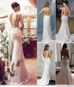 Gorgeous Backless Wedding Dresses